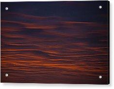 Sky Flow Acrylic Print by Sean Holmquist