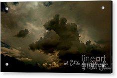 Sky / Haeven Acrylic Print by Olivia Narius