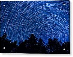 Sky In Motion Acrylic Print