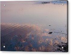 Sky In The Water Acrylic Print by Sergey Simanovsky