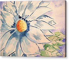 Sky Lillie Acrylic Print by Sidney Holmes