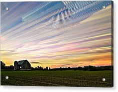 Sky Matrix Acrylic Print by Matt Molloy