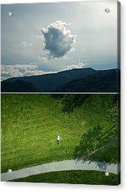 sky Acrylic Print by Noahlakcus