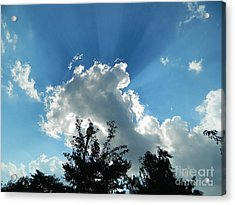Acrylic Print featuring the photograph Sky Phenomenon At Hains Point by Emmy Marie Vickers