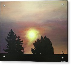 Sky-scape 4 Acrylic Print by Kim Cyprian