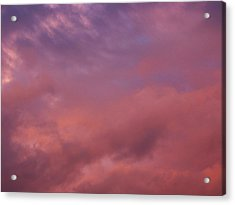 Acrylic Print featuring the photograph Sky Song by Laurie Stewart