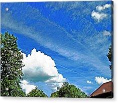 Sky Trails Acrylic Print