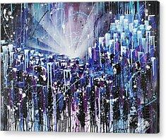Skycity  Acrylic Print by Aramis Hamer