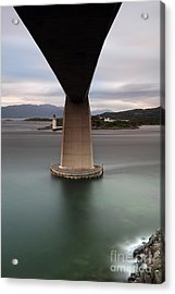 Skye Bridge At Sunset Acrylic Print