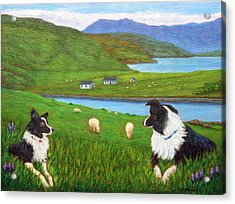 Skye Watch Acrylic Print by Fran Brooks