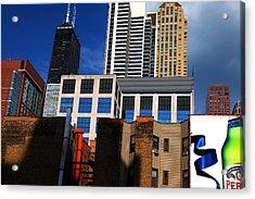 Skyline Building Blocks Acrylic Print