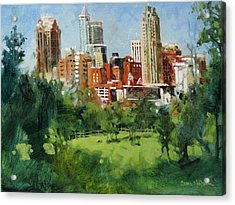 Skyline From Dix Hill Acrylic Print