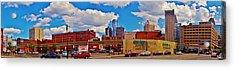 Skyline From The Inside... Detroit Acrylic Print