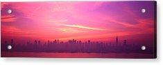 Skyline, Nyc, New York City, New York Acrylic Print by Panoramic Images