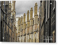 Skyline Of Cambridge Acrylic Print