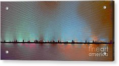 Skyline Acrylic Print by Ursula Freer