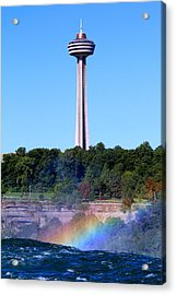 Skylon Tower Niagara Falls Acrylic Print
