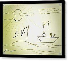 Skype Acrylic Print by Beto Machado