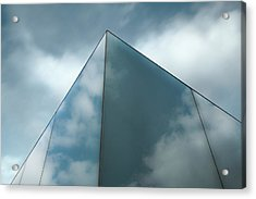 Skyreflect Acrylic Print by Gilbert Claes