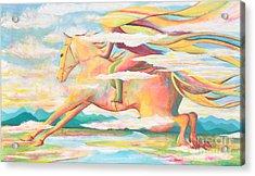 Skyrider Acrylic Print