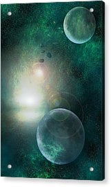 Skyscape Acrylic Print by Carol and Mike Werner