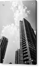 Skyscraper Acrylic Print by BandC  Photography