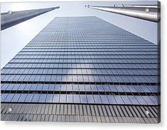 Skyscraper In New York Acrylic Print by Rostislav Bychkov