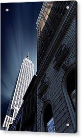 Skyscraper Acrylic Print by Sebastien Del Grosso