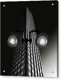 Skyscraper With Glasses Acrylic Print