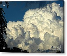 Skyward Sculpture Acrylic Print