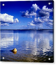 Skyway Bridge Acrylic Print