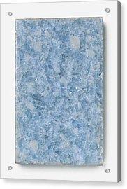 Slab Of Blue Marble Acrylic Print by Dorling Kindersley/uig