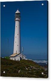 Slangkop Lighthouse Acrylic Print by Tom Hudson