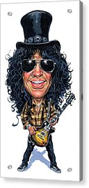 Slash Acrylic Print by Art