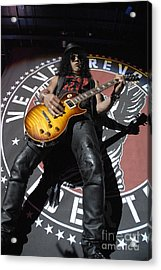 Slash Guitarist Acrylic Print
