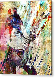 Slash Original  Acrylic Print