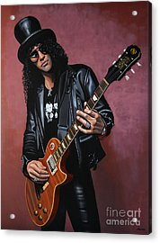 Slash Acrylic Print by Paul Meijering