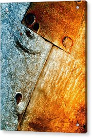 Slate Gray 2 Acrylic Print by Tom Druin