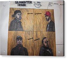 Slaughterhouse Acrylic Print