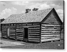 Acrylic Print featuring the photograph Slave Quarters At The Hermitage by Robert Hebert
