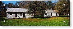 Slave Quarters, Magnolia Plantation And Acrylic Print by Panoramic Images