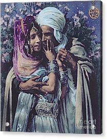 Slave To Love Acrylic Print by Alphonse Etienne Dinet