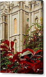 Slc Temple Berries Turret Acrylic Print