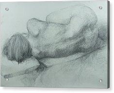 Sleep Acrylic Print by Cynthia Harvey