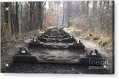 Sleepers In The Woods Acrylic Print by John Williams