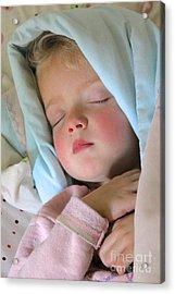 Sleeping Angel Acrylic Print