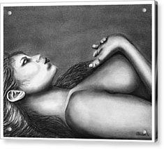 Sleeping Beauty  Acrylic Print by Peter Piatt