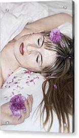 Sleeping Beauty Acrylic Print by Svetlana Sewell