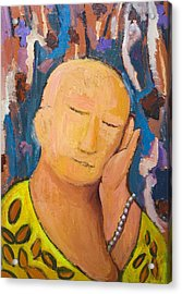 Sleeping Buddha Acrylic Print by Kazuya Akimoto