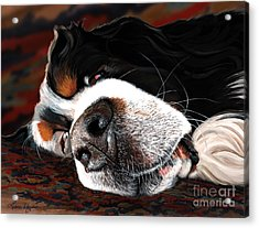 Sleeping Dogs Lie Acrylic Print